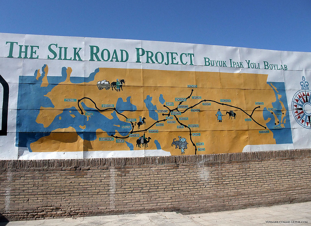 the silk road project Chinese president xi jinping pledged $124 billion on sunday for his new silk road plan to forge a path of peace, inclusiveness and free trade, and called for the abandonment of old models based on.